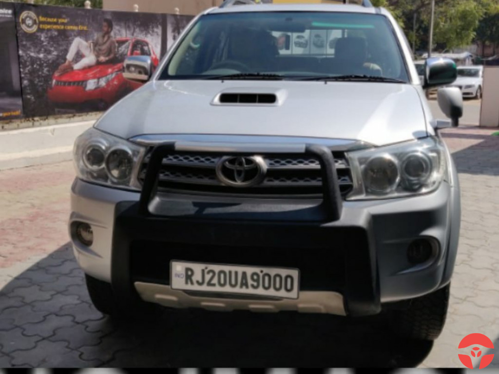 2010 Toyota Fortuner 3.0 4x4 Manual